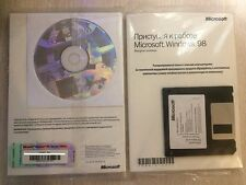 Windows 98 se version russe * brand new * 1pcs