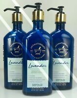 3 BATH BODY WORKS*LAVENDER*ESSENTIAL OIL LOTION*AROMATHERAPY*Free PRIORITY Ship!