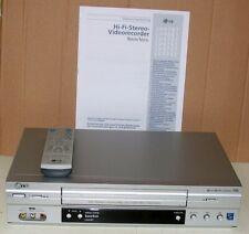 LG LV 4787 VHS Videorekorder, HiFi Stereo, 6 Köpfe