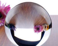 Asian Rare Quartz clear Magic Crystal Healing Ball Sphere Size 40MM + Stand