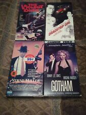 VHS '80s Noir lot good to acceptable condition, previous rentals