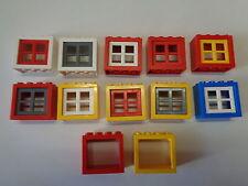 LEGO Ville City Fenêtre Maison Vintage Window (4132 4133) choose color