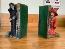 More details for terry pratchett discworld death and rincewind bookends dw11 & dw12