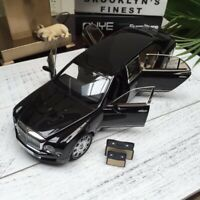 New 1:18 Almost Real Bentley Mulsanne Limousine Open & close car model Black