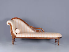 Swan Sofa Vintage Chaise Longue English Recliner Empire Style