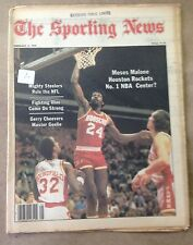 The Sporting News: Moses Malone Houston Rockets No.1 NBA Center? February 3,1979