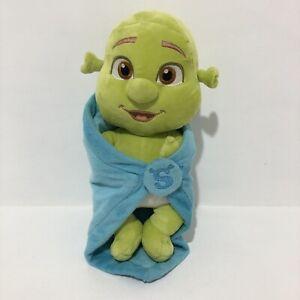 Shrek Dreamworks Farkle Baby Ogre In Blanket Plush 31 cm