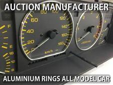 Nissan Patrol Gr Y60 1989-1997 Dashboard Gauge Dash Chrome Dial Aluminium Rings