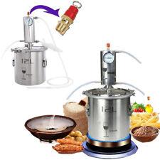12L Maison distillateur inoxydable kits alcool eau huile distillateur