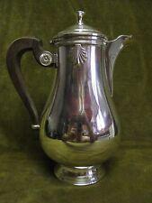 Vintage French silverplate gallia christofle coffee pot vendome shells