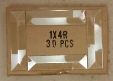 $33.99--Box of 30--1x4 inch CLR BEVELS Stained Glass Supplies Light Refraction