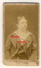 Foto Portrait CDV Kaiserliche Marine um 1880
