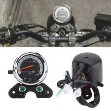 Universal 12V Motorcycle LCD LED Digital Measurement Odometer Speedometer Oil