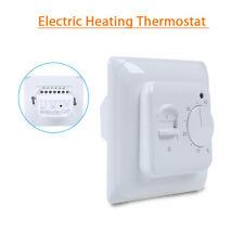 Electric Floor Heating Room Thermostat 230V 16A Temperature Controller 3M Sensor