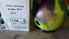 USED DV8 PITBULL BITE Bowling Ball 14LB 2115