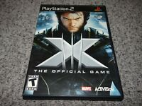 X-Men: The Official Game for Sony Playstation 2 PS2 Complete Tested/Working