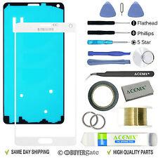 Samsung Galaxy Note 4 exterior frontal lente de Cristal Reemplazo de la pantalla