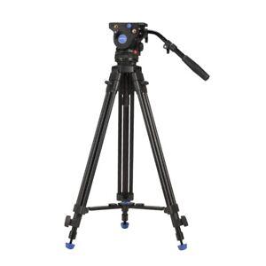 Benro BV4 Video Tripod Professional Auminium Camera Tripod Heavy Duty Video Head
