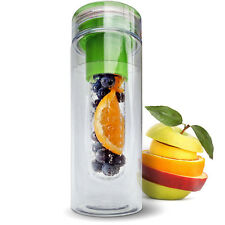 800ML Sports Fruit Coupe Tasse Eau Infusion Bouteille Jus BPA Infuseur Filtre