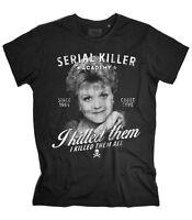 T-shirt uomo JESSICA FLETCHER Signora in giallo Murder, She Wrote tshirt killer