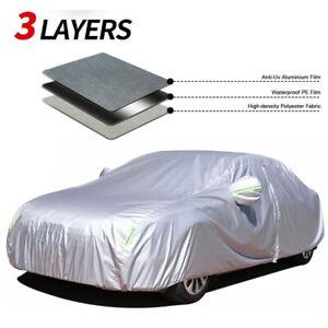 Car Cover Waterproof Sun UV Snow Dust Resistant Protection For Honda Civic Sedan