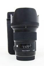 Sigma Art 50mm F/1.4 HSM DG Lens For Canon