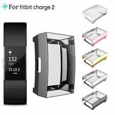 All-Around TPU Case Soft Protective Cover for For Fitbit Charge 2