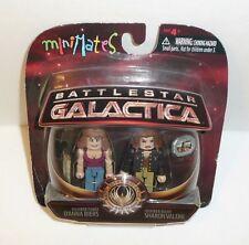 Battlestar Galactica MiniMates Set - D'Anna Biers and Sharon Valerii Toy Figures