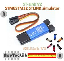 ST-Link V2 Mini STM8 STM32 STLINK Simulator Download Programming with Cover