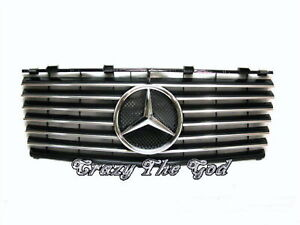 W124 1993-1996 Facelifted GRILLE/GRILL INNER 13MD SPORT CH/BLACK Mercedes-Benz