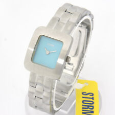 """STORM VINTAGE WOMEN'S WATCH """"Odessy Square"""" Light Blue"""