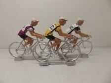 Giuseppe Saronni cycling figurines set miniature Del Tongo Colnago Campagnolo