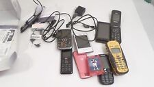 Lot Vintage Motorola LS Samsung Cell Phones & Chargers Beeper parts/repair