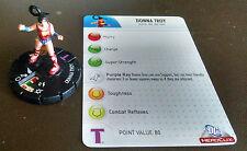 Donna Troy #102 LE Crisis Heroclix set with card Wonder Girl