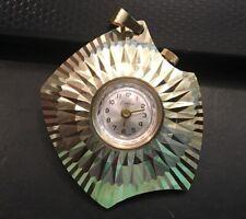 Womens Gold Tone Endura Pendant Watch, Swiss Mechanical