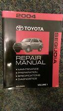 2004 Toyota Sequoia Factory Service Repair Manual Volume 1