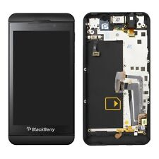 OEM BLACKBERRY Z10 4G  BLACK FULL LCD DISPLAY TOUCH SCREEN DISPLAY WITH FRAME