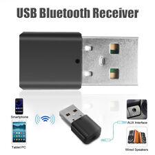 Sans Fil USB Bluetooth V3.0 Musique Stéréo Récepteur Adaptateur AUX 2 Voiture 5V