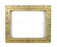 "Antique Wood Gesso Ornate Pattern Baroque Gold Picture Frame Fits 14"" x 11"""