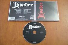 INVADER S/T SAME CD 2012 PURE STEEL HEAVY METAL  IRON MAIDEN JAG PANZER