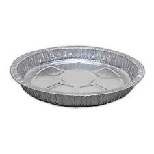 "20 x ROUND Aluminium Foil Dishes 8"" Steak Pie Quinche Disposable Baking Trays"
