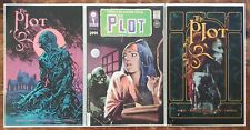 THE PLOT #1 3-BOOK SET A-C VAULT COMICS NEW NEVER READ. SOLD OUT AT DISTRIBUTOR!