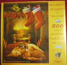 SunsOut 1000 Piece Jigsaw Puzzle Silent Night by Tom Wood