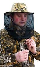 Mütze Kappe mit integriertem Moskitonetz Camou angeln Moskitohut Hut universal..