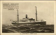 SS Cottica c1915 Postcard ROYAL NETHERLANDS STEAMSHIP CO