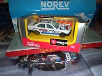 BURAGO 1:43 BMW 535i RALLY #9 NEUF EN BOITE