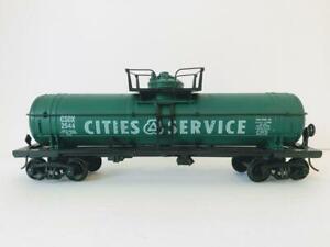 KMT Kusan Auburn Cities Service CSOX 2544 Single Dome Tanker Tank Car Train