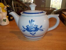 ARABIA Blue Rose 2 Cup Mini Teapot