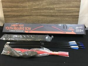 Keshes Archery Recurve Bow and Arrow Youthbow Set Brand New