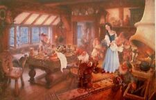 Heaven and Earth Designs Snow White Counted Cross Stitch Pattern Dwarfs